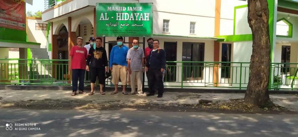 DKM Mesjid Al-Hikmah bersama Warga