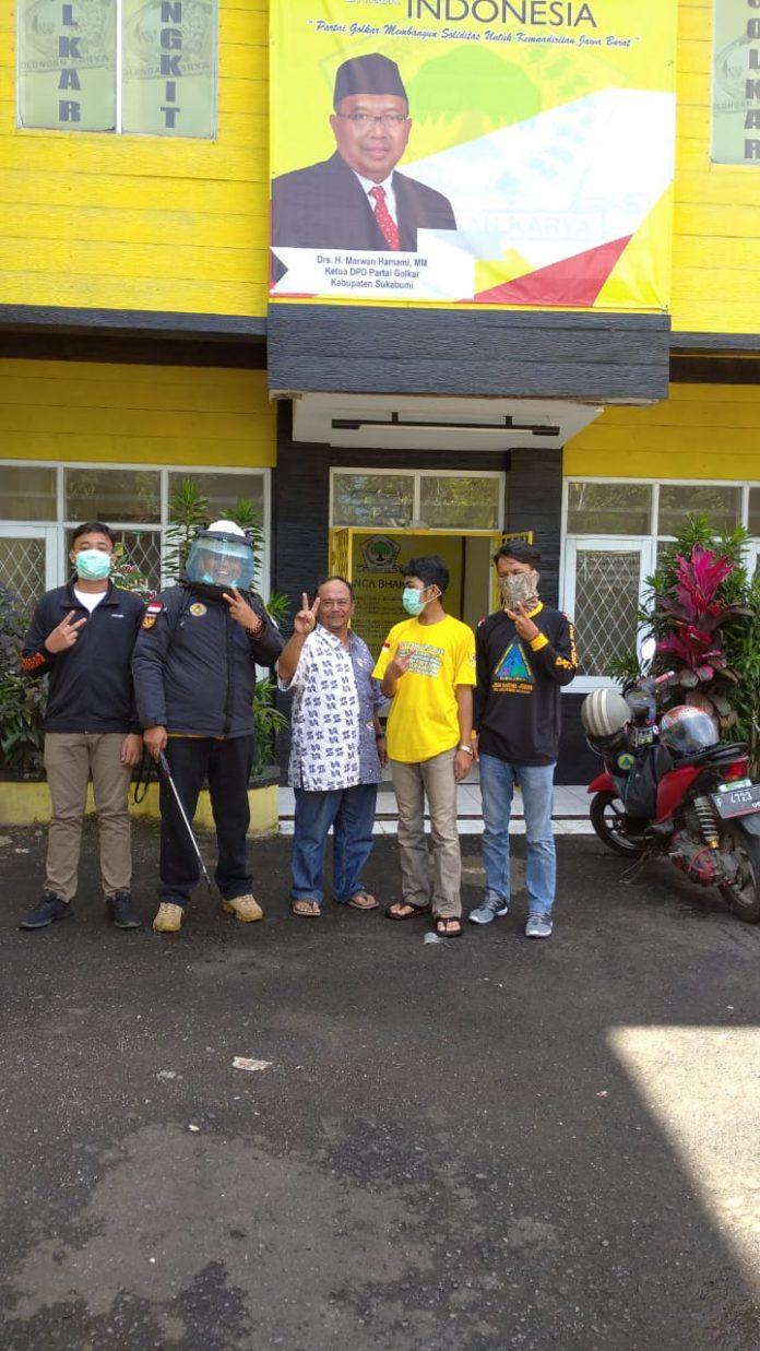 Dampal Jurig Kembali Bereaksi Kali ni Bagikan Masker Dan Disinfektan di Sejumlah Wilayah-infokowasi
