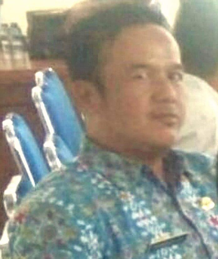 Kabid Keuangan DPMPD Dudung Abdulah, SH