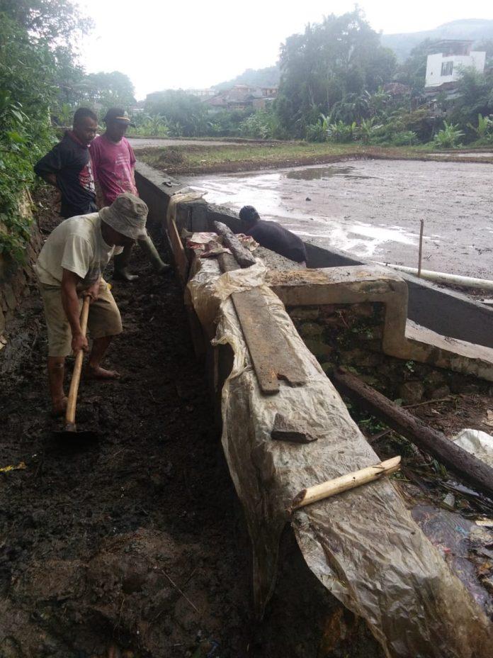 pembangunan irigasi Pertanian Wiayahl II Cibadak,