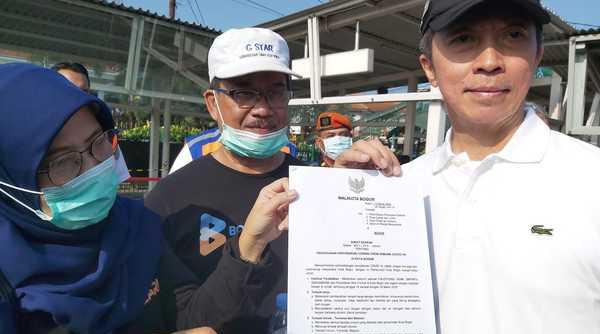 Wakil Walikota Bogor Dedie A Rachim