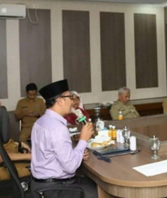 Walikota Sukabumi, H. Achmad Fahmi,