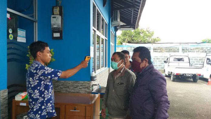 Pengurus KOWASI Dicegat Masuk Di PERUMDA AM TJM Kab. Sukabumi