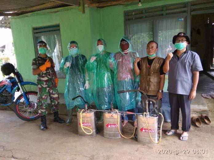 Yayasan Forum Silaturahmi Barisan Benteng Pajampangan peduli pencegahan covid-19 dan dbd
