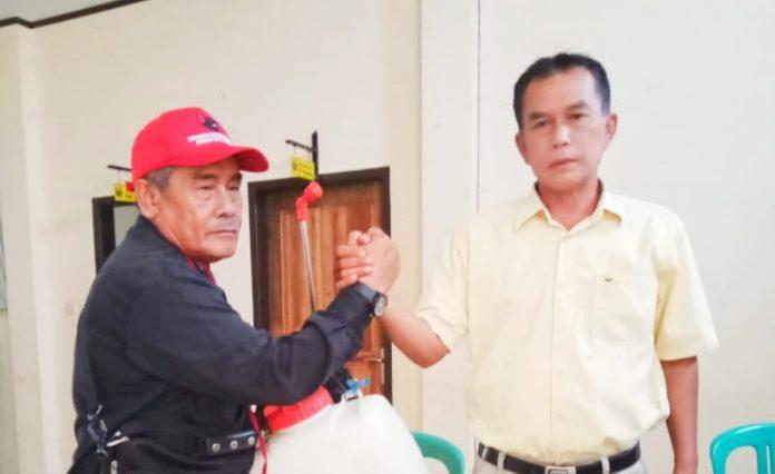 Edi Suryadi Bersama Kades Pamuruyan Rudi Hardiansyah