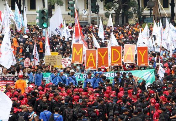 Aksi Demo Buruh May Day Batal Setelah Jokowi Turun Tangan - infokowasi berita terbaru