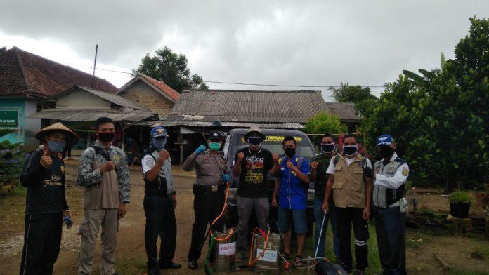 Aksi PK KNPI Surade, Karang Taruna, LPMK dan BRUTALA