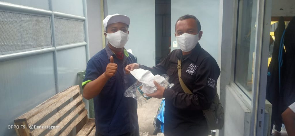 OPSI - Masker untuk Para Pekerja