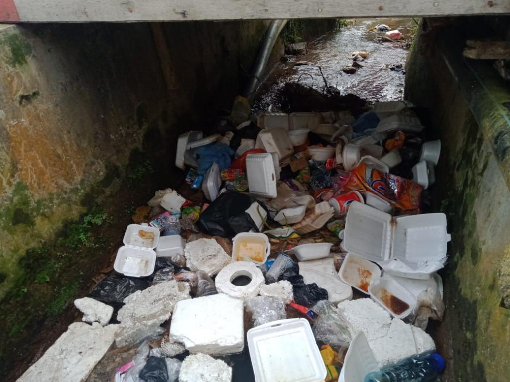"""Bau Busuk, Sampah Berserakan """"Akibat TPS Tidak Tersedia Dikeluhkan Warga Pasirdoton"""""""