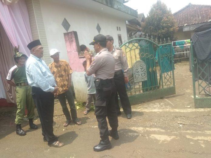 Polsek Bojonggenteng Giat Ops Aman Nusa II Dalam Pembubaran Kerumunan Massa, Untuk Cegah Corona