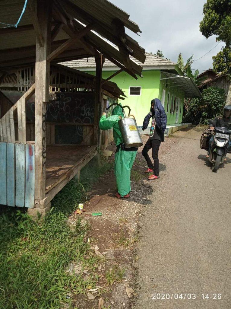 "Desa Cijengkol Intensifkan ""Masyarakat Bergerak"" Cegah COVID-19"