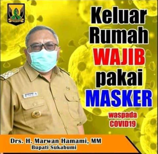 Bupati Mengeluarkan Surat Edaran Wajib Menggunakan Masker