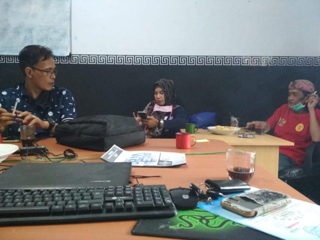 Evaluasi Rapat Bulanan Kowasi, Paska Bimbingan Teknis (Bimtek) Jurnalistik