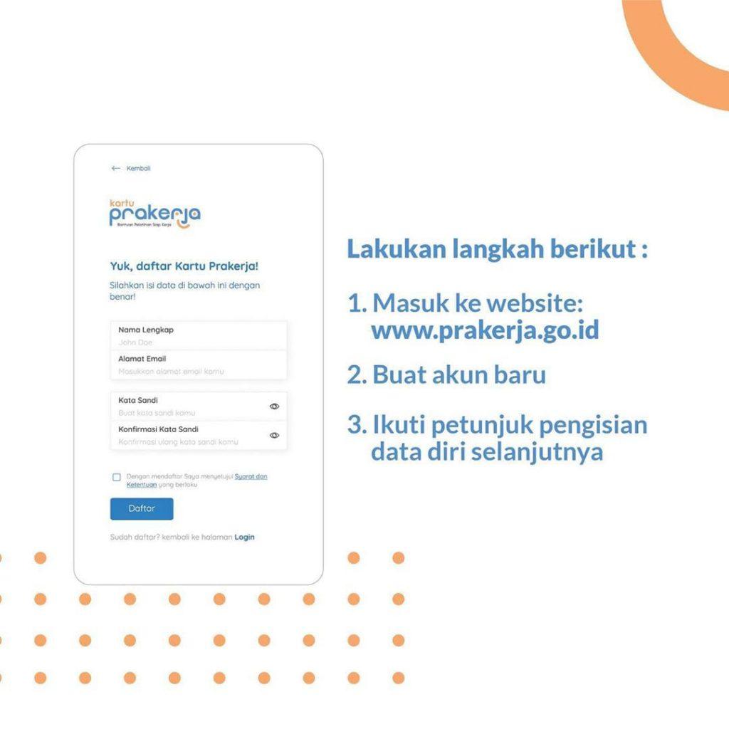 Pendaftaran Kartu Pra Kerja Sudah Resmi di Buka