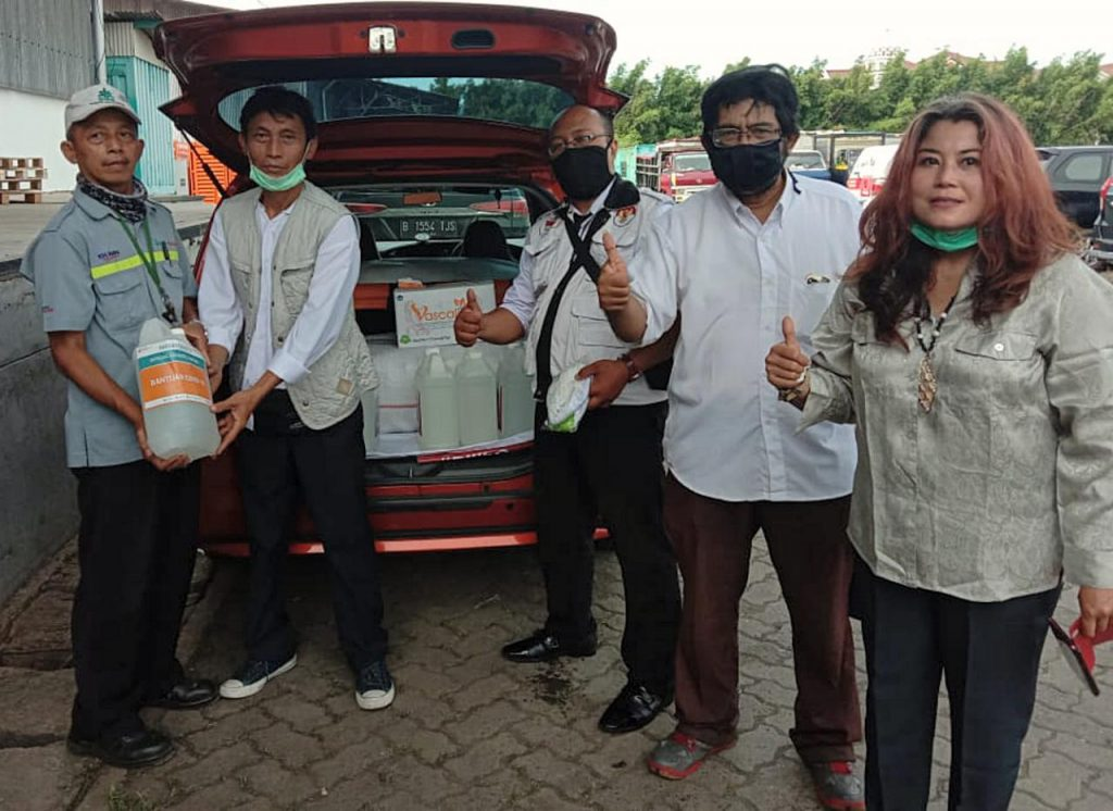 Aksi Simpatik Relawan HAWA di Kecamatan Cicurug