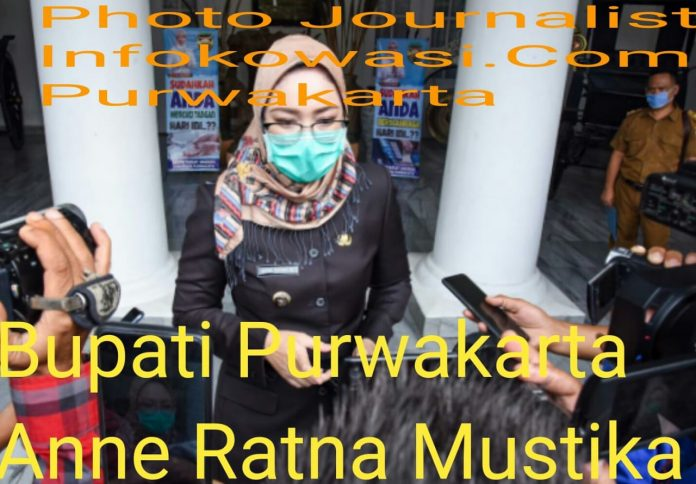Ini Pesan Bupati : Warga Purwakarta Wajib Pakai Masker