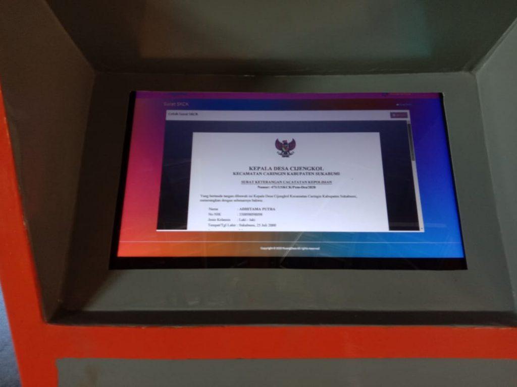 Cijengkol Kab. Sukabumi, di Tengah Pandemi Tetap Berinovasi