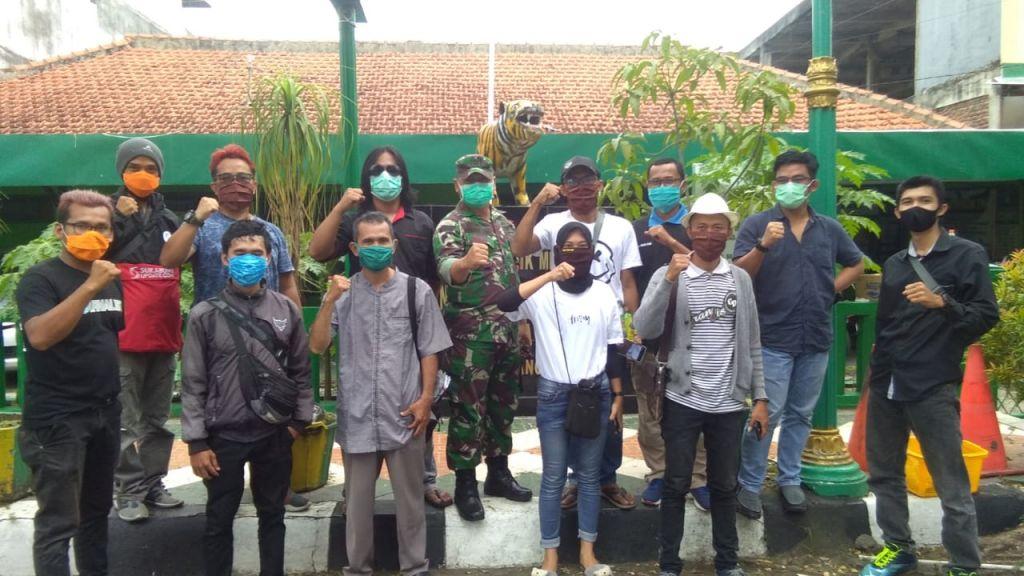 JPB Gandeng TNI serta Pengusaha Bagi Masker dan Hand Sanitizer Gratis
