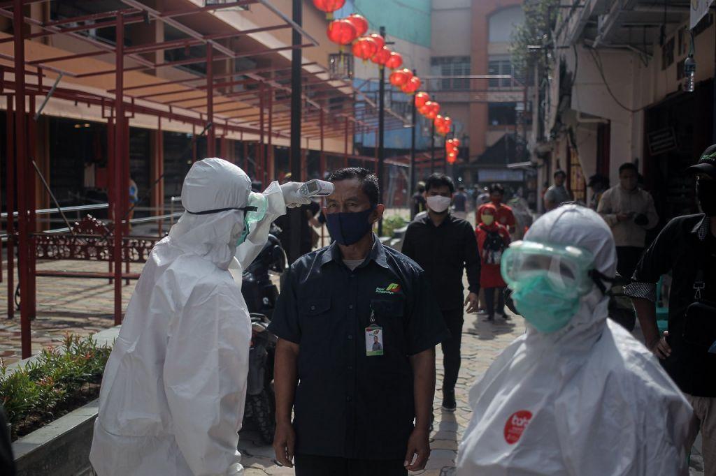 Pedagang Pasar Bogor Ikuti Rapid Test, 197 Orang Negatif